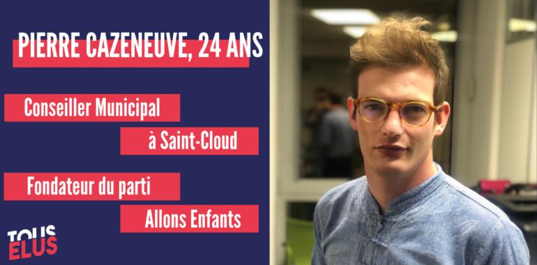 «Tout le monde est légitime pour faire de la politique», Pierre Cazeneuve, Conseiller municipal à Saint-Cloud.