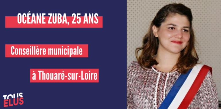 «Ce qui compte, c'est les idées et la volonté : peu importe les critiques, il faut savoir s'imposer et prendre confiance en soi», Océane Zuba, Conseillère municipale à Thouaré-sur-Loire.