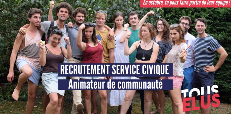 Recrutement : un service civique pour animer une communauté de bénévoles engagés pour plus de démocratie locale !