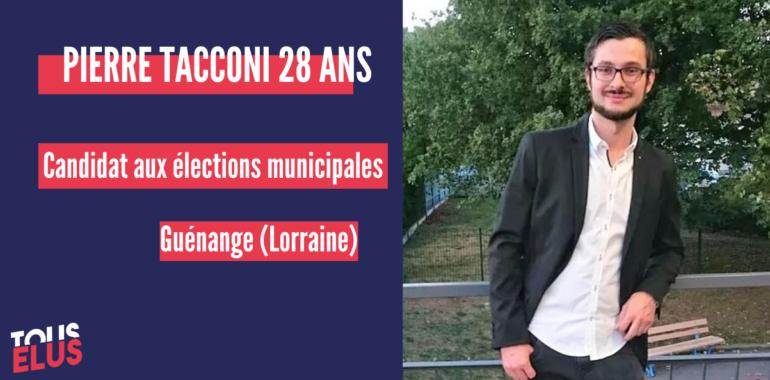 «Il faut s'impliquer dans la politique locale, particulièrement […] dans une petite commune. Les répercussions se font sur tout le territoire» Pierre, 28 ans, candidat aux municipales 2020.