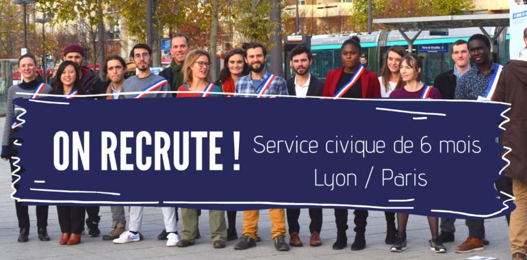 Recrutement : un service civique pour accompagner la démocratie interne de l'association