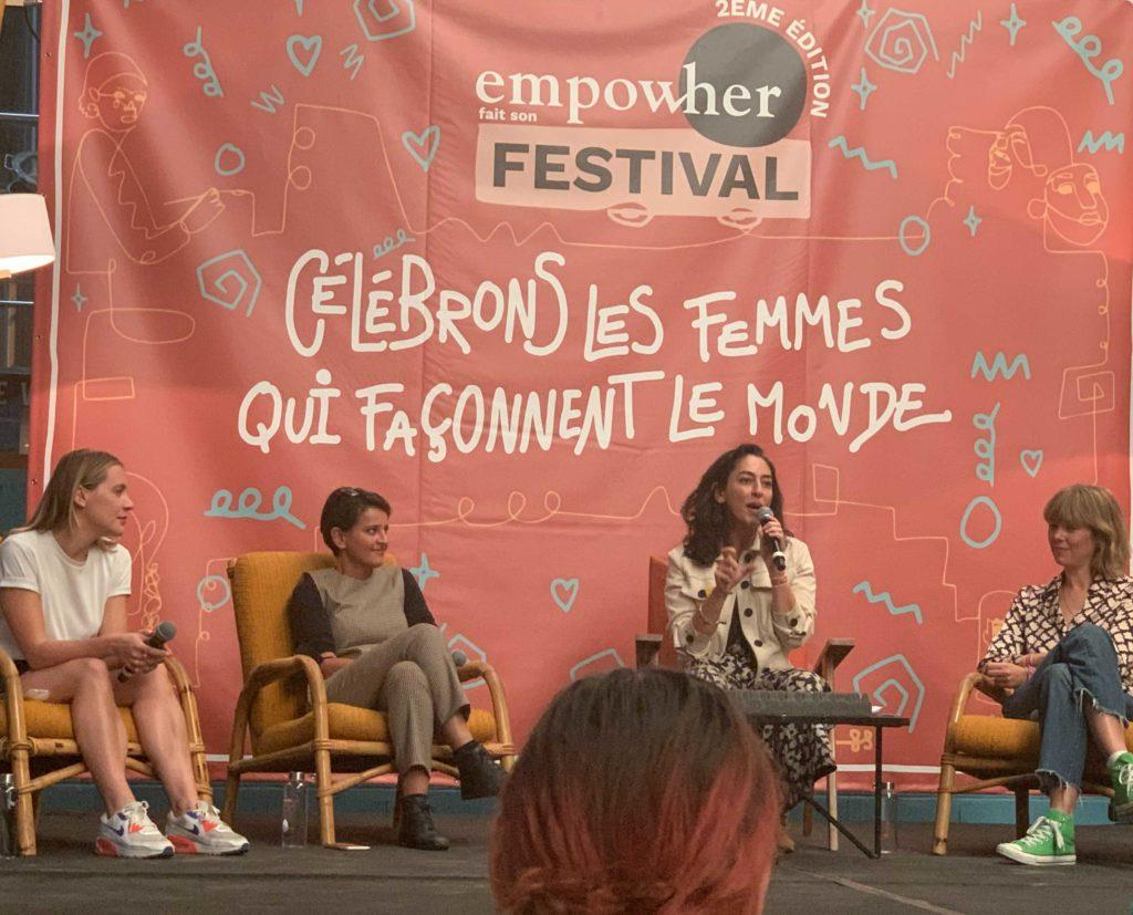 Panel de femmes au festival Empow'Her