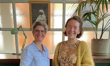 Deux femmes : Sandrine Rousseau et Charlotte