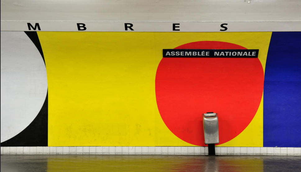 Station assemblée nationale France